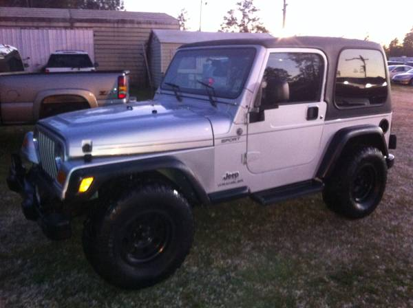2005 jeep wrangler sport for sale in baton rouge louisiana. Black Bedroom Furniture Sets. Home Design Ideas