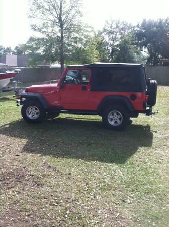 2005 jeep wrangler unlimited for sale in biloxi mississippi 13 500. Black Bedroom Furniture Sets. Home Design Ideas