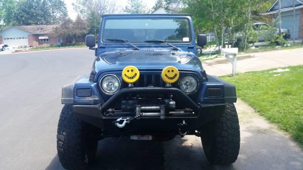 2005 jeep wrangler unlimited for sale in denver colorado 13 000. Black Bedroom Furniture Sets. Home Design Ideas