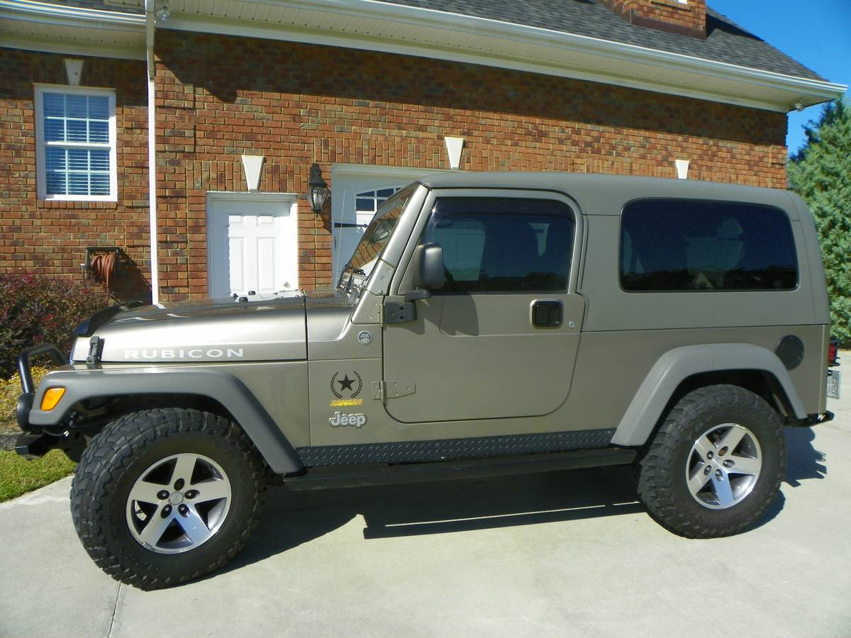 2005 jeep wrangler sahara unlimited rubicon for sale in greenville nc 11 900. Black Bedroom Furniture Sets. Home Design Ideas