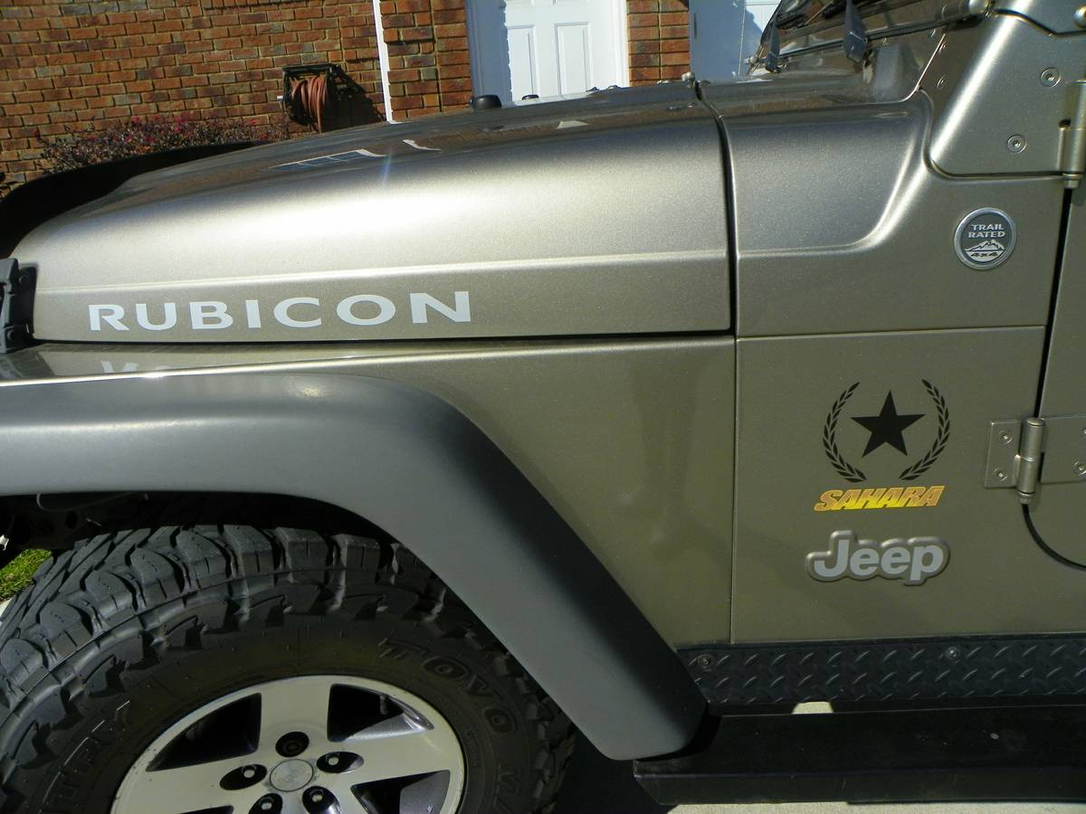 2005 Jeep Wrangler Sahara Unlimited Rubicon For Sale in ...