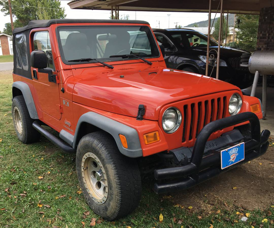2005 jeep wrangler x for sale in heavener oklahoma 17 200. Black Bedroom Furniture Sets. Home Design Ideas