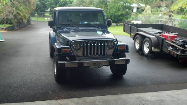 Jeep Wrangler For Sale Big Island Hawaii