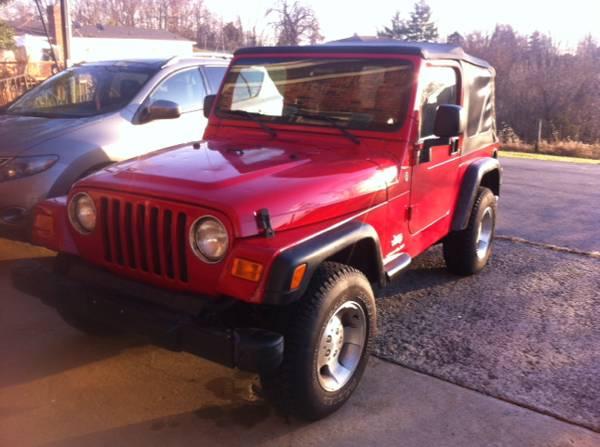 2005 Jeep Wrangler Sport For Sale in Lexington KY - $7500