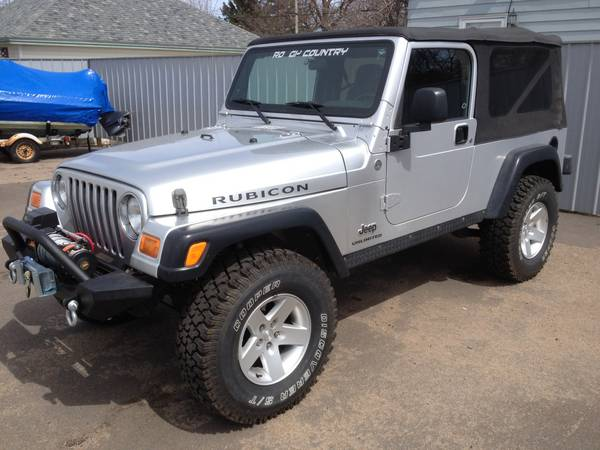 2005 jeep wrangler rubicon unlimited for sale in merrill wisconsin 16k. Black Bedroom Furniture Sets. Home Design Ideas