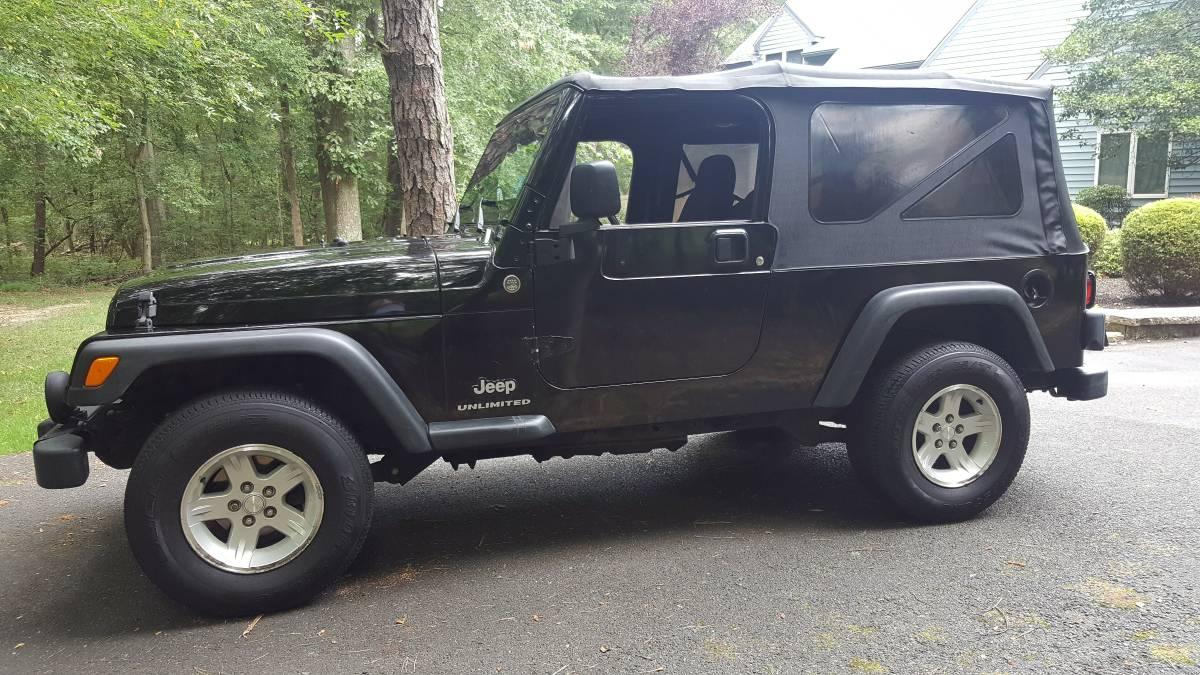 2005 jeep wrangler unlimited for sale in monroeville new jersey 9 750. Black Bedroom Furniture Sets. Home Design Ideas