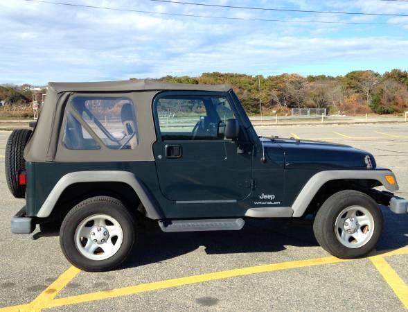 2005 jeep wrangler se for sale in orleans massachusetts. Black Bedroom Furniture Sets. Home Design Ideas