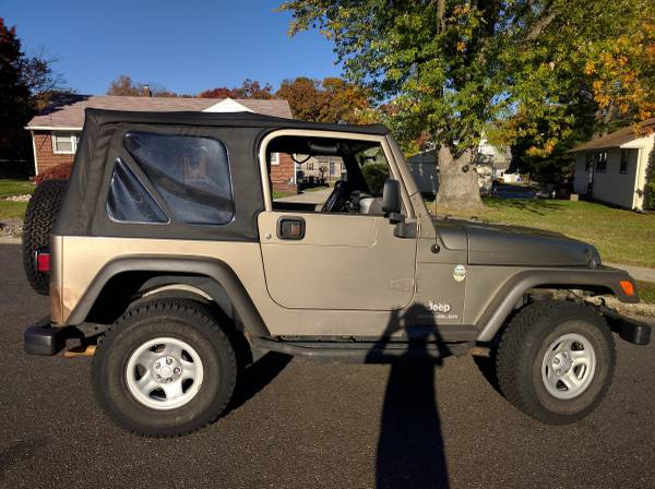 2005 jeep wrangler for sale in runnemede new jersey 9 500. Black Bedroom Furniture Sets. Home Design Ideas