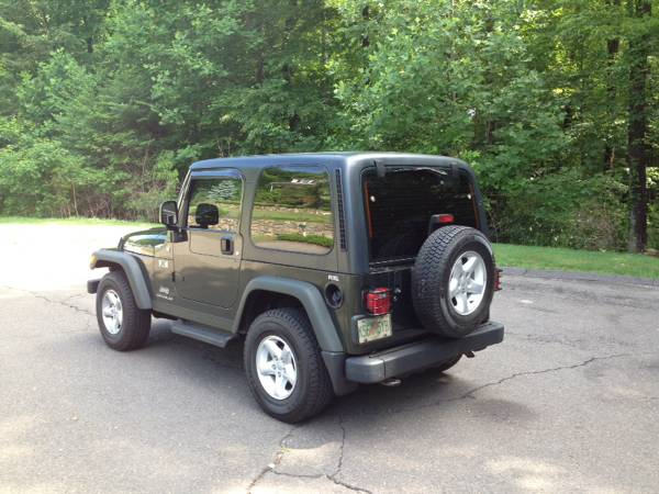 2005 jeep wrangler willys edition for sale in seymour connecticut. Black Bedroom Furniture Sets. Home Design Ideas