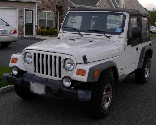 Stock 2005 Jeep Wrangler SE