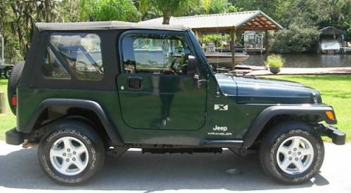Stock 2005 Jeep Wrangler X
