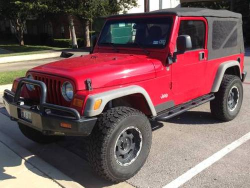 2005 Jeep Wrangler Red Unlimited For Sale Belton (Killeen ...