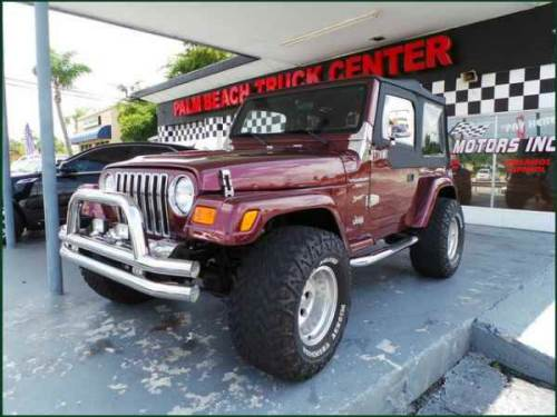 2005 Jeep Wrangler Sienna Pearl Sport For Sale West Palm ...
