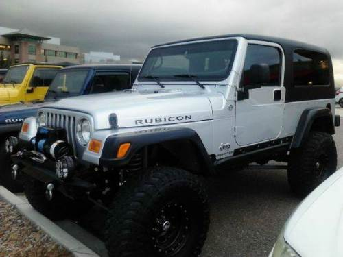 2005 jeep wrangler silver rubicon unlimited for sale denver colorado. Black Bedroom Furniture Sets. Home Design Ideas