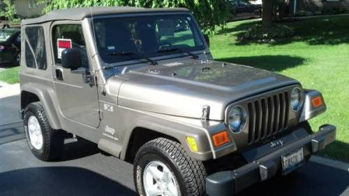 2005 jeep wrangler x 4x4 automatic for sale in chicago illinois. Black Bedroom Furniture Sets. Home Design Ideas