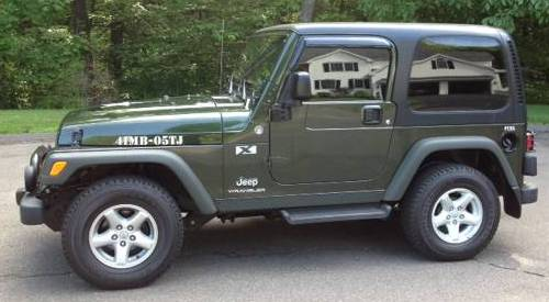 Military Green Willys Seymour CT