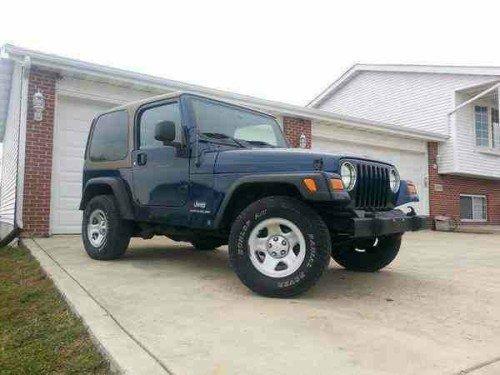 2005 Jeep Wrangler Se For Sale In Porter County In 9500