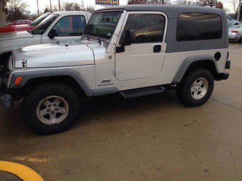 2005 jeep wrangler se for sale in meade ky 9800. Black Bedroom Furniture Sets. Home Design Ideas