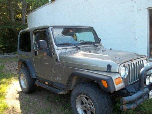 2005 jeep wrangler sport for sale in jay maine 12 000. Black Bedroom Furniture Sets. Home Design Ideas