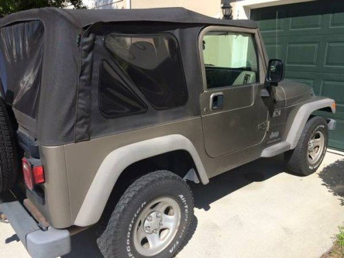 2005 jeep wrangler sport for sale in jacksonville florida 6 999. Black Bedroom Furniture Sets. Home Design Ideas