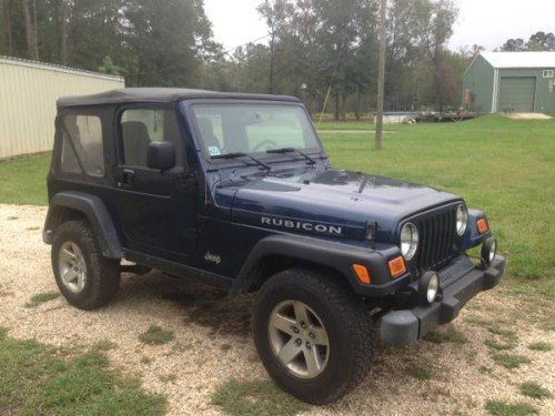 2005 jeep wrangler rubicon for sale in livingston louisiana 10 800. Black Bedroom Furniture Sets. Home Design Ideas