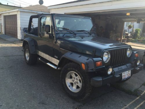 2005 jeep wrangler unlimited for sale in chicago illinois 8 500. Black Bedroom Furniture Sets. Home Design Ideas
